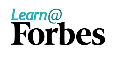 Learn@Forbes Logo (PRNewsfoto/Learn@Forbes)
