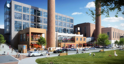 Bailey South will add nearly 100,000 square feet of new office and retail space in Winston-Salem's Innovation Quarter.