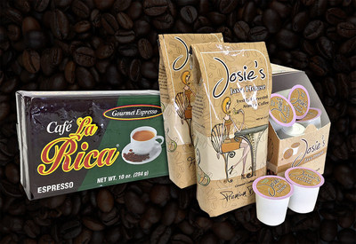 United Foods Joins As New Distributor for Café La Rica and Josie's Java House In the North East