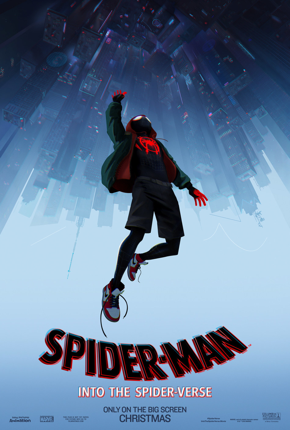 Spider-Man(tm): Into the Spider-Verse will be released in theaters nationwide on December 14, 2018.