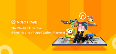 NOLO Home - The World's First 6DoF Mobile VR Application Platform