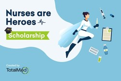 TotalMed's 1st Annual Nurses Are Heroes Scholarship