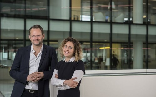 CognitionX co-founders Charlie Muirhead and Tabitha Goldstaub. (PRNewsfoto/CognitionX)