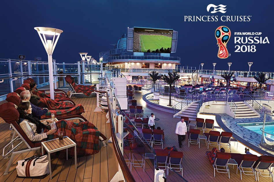 Princess Cruises to Screen 2018 FIFA World Cup Russia™ Games on Movies Under the Stars®