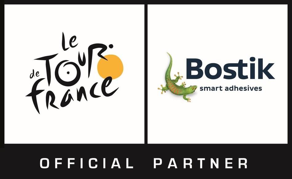 Bostik Tour de France Official Partner Logo (PRNewsfoto/Bostik)