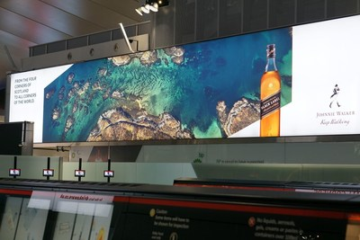 The latest in the Johnnie Walker brand's award-winning line of Keep Walking campaigns will feature prominently across all Heathrow terminals and Edinburgh airport.