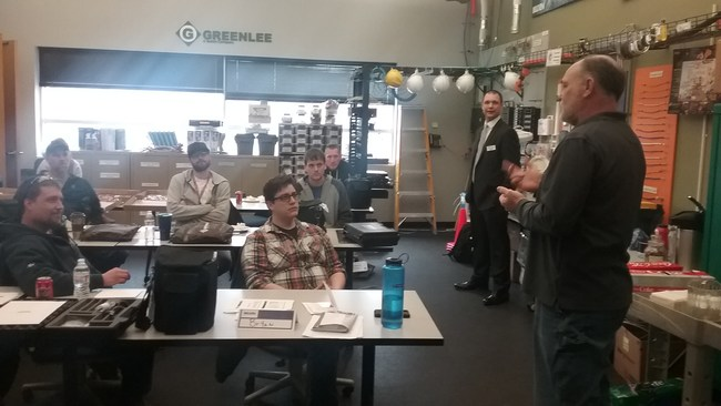Gateway Technical College's instructor explains technical considerations.