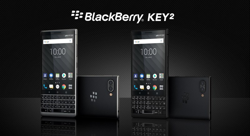 BlackBerry KEY2 (CNW Group/TCL Communication)