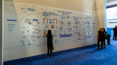This innovative installation was the talk of the show, and it continues to drive brand engagement on social media with tens of thousands of shares and growing.