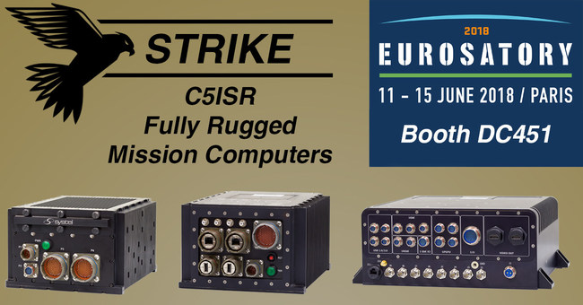 Systel Strike Rugged Mission Computers for Mission-Critical C5ISR Applications