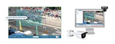Figure 1. Avigilon adds UMD technology on the H4 SL and H4 Mini Dome camera lines for powerful artificial intelligence capabilities at an entry-level price point. (CNW Group/Avigilon Corporation)