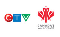 CTV Partners with CANADA'S WALK OF FAME as Official Broadcaster of CANADA'S WALK OF FAME AWARDS (CNW Group/CTV)