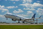 United Airlines' First 737 MAX 9 Takes Flight from Houston's George Bush Intercontinental