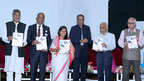 Dignitaries releasing 'Niramaya - India's First Population Health Study' (PRNewsfoto/SRK Knowledge Foundation)