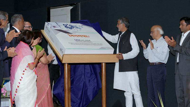 Inauguration of SRK-Kalam Health Project - Niramaya, India's First Population Health Study (PRNewsfoto/SRK Knowledge Foundation)