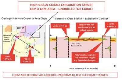 Figure 4: Sandy Point Cobalt Conceptual Model (CNW Group/Bluebird Battery Metals)