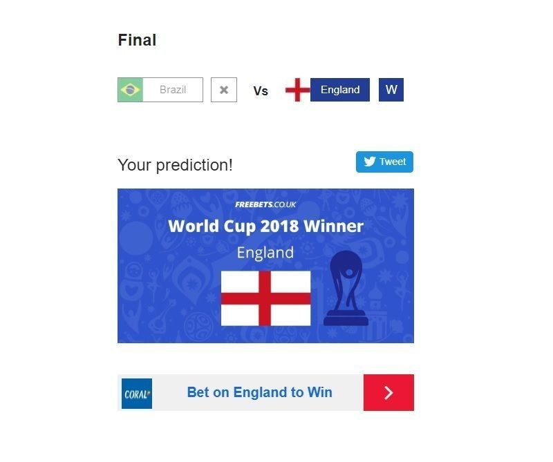 Pick your World Cup winner (PRNewsfoto/Freebets.co.uk)