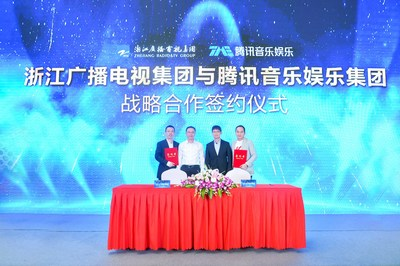 Tencent Music Entertainment and ZRTG Strengthen Their New Three-year Strategic Partnership