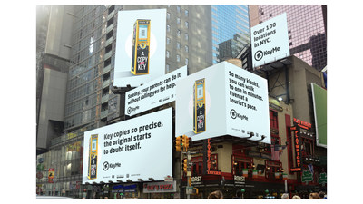 KeyMe Times Square Takeover