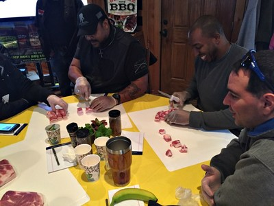 Injured veterans and their guests picked up barbecue tips and techniques from an award-winning pitmaster during a recent cooking class with Wounded Warrior Project®.