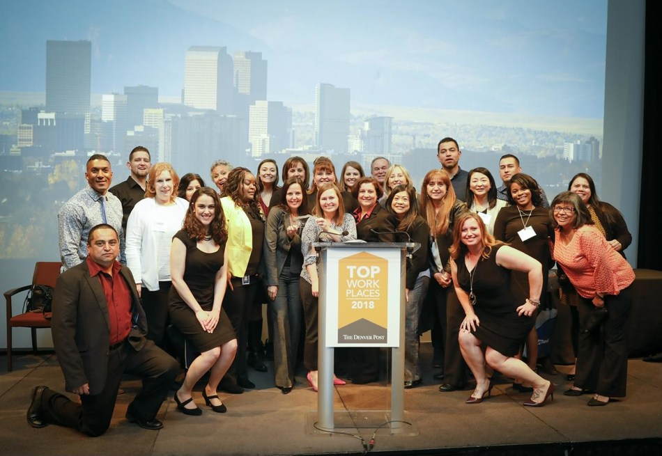 More than 40 Aimco teammates attended the Top Workplace event and accepted the honor on behalf of the company.