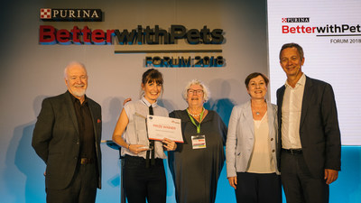 Purina BetterwithPets Forum 2018 Judging Panel and Bernard Meunier (PRNewsfoto/Nestlé Purina PetCare EMENA)