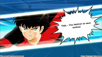Screenshot taken during development - Captain Tsubasa