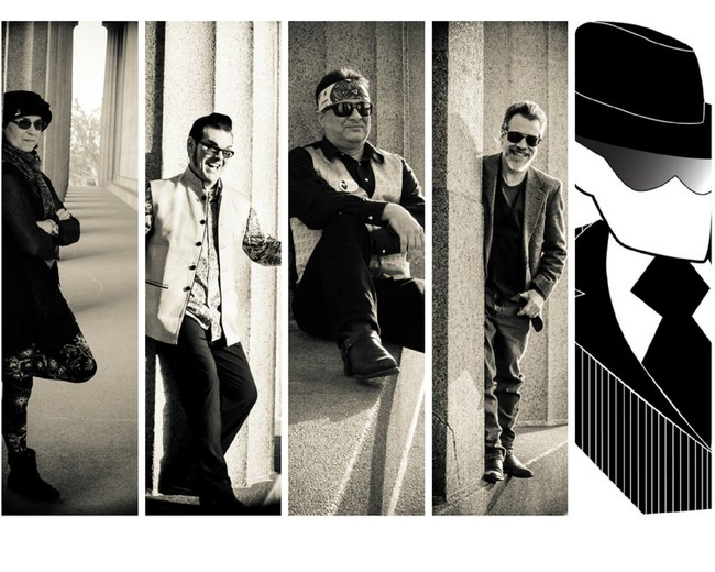 Incognito Cartel (L to R): Terri Templeman (bass, vocals), Steve Rempis (guitar, vocals), Tom Templeman (guitar, vocals), Don Gaylord (keyboard, vocals)