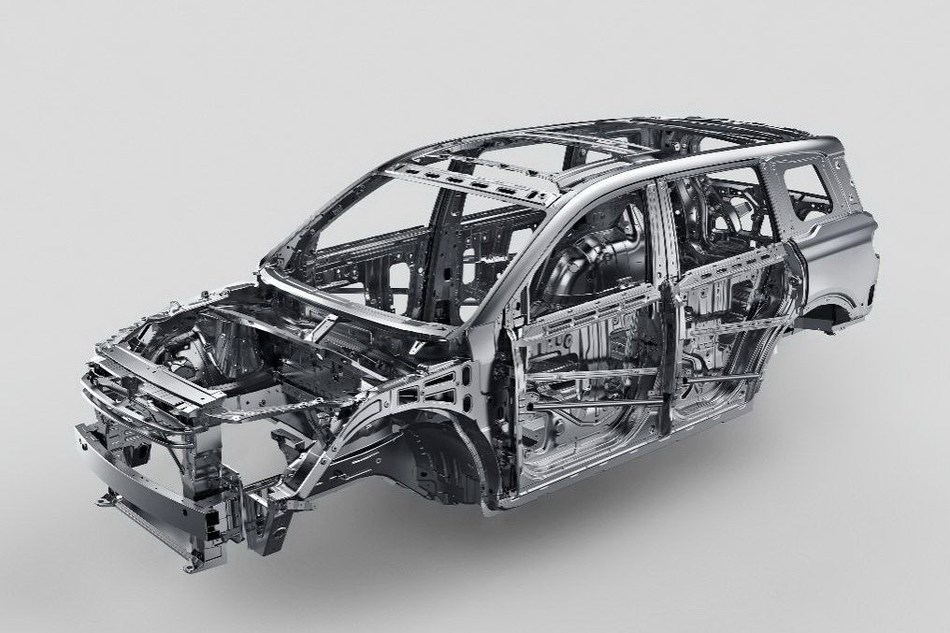 The GS8 SUV, includes second generation Geometric Absorption Control (GAC) collision energy absorption technology and uses high-strength steel in over 95 percent of the driving cabin. Its resulting compressive strength far exceeds regulatory requirements.
