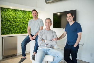 Left to Right: Terry McKim, Co-Founder and CIO, David Tashjian, CEO/President, Jeff Rudner, CFO