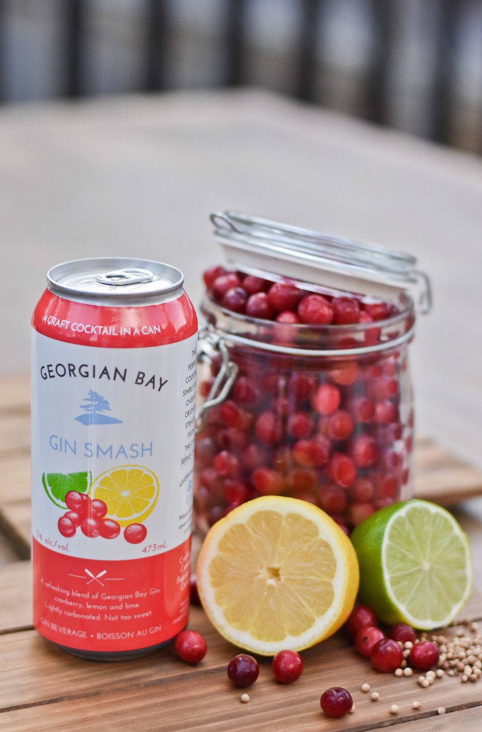 Cranberry Gin Smash (CNW Group/Georgian Bay Spirit Co.)