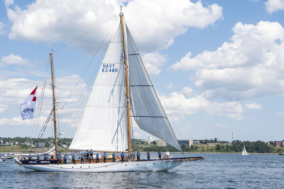 The Royal Canadian Navy will be bringing the HMCS Oriole to this year's festival. The Oriole is the Navy's longest serving commissioned vessel. The tall ship hasn't sailed the Great Lakes in 25 years. (CNW Group/Water's Edge Festivals & Events)