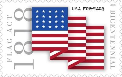 U S  Postal Service Dedicates New Forever Stamp Commemorating 200th