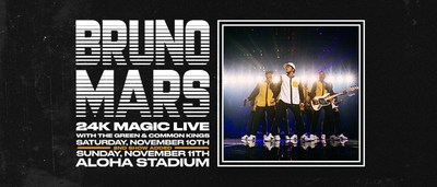Bruno Mars Announces Second Honolulu Show On 24k Magic World Tour