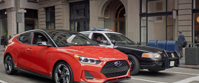 The all-new Hyundai Veloster will be making its Hollywood debut in Marvel Studios' Ant-Man and The Wasp and Hyundai is suiting up to give fans an action-packed experience. In the Hyundai ad,