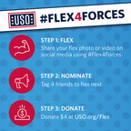 You can still participate in #Flex4Forces. Participation is simple - just follow these three steps!