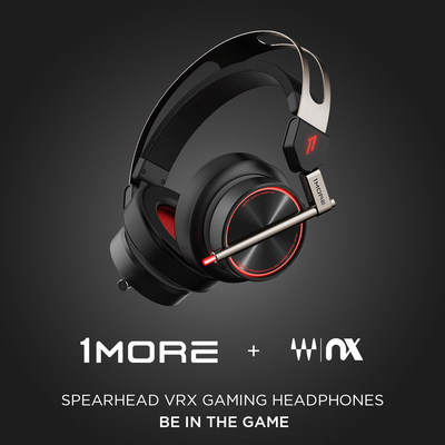 1MORE Spearhead VRX Gaming Headphones Featuring Waves Nx� Head Tracking Technology
