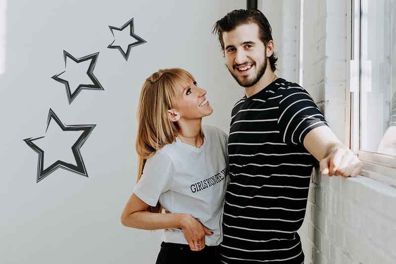 Marie-Pierre et Phillip Danault (Groupe CNW/Fondation Jasmin Roy)