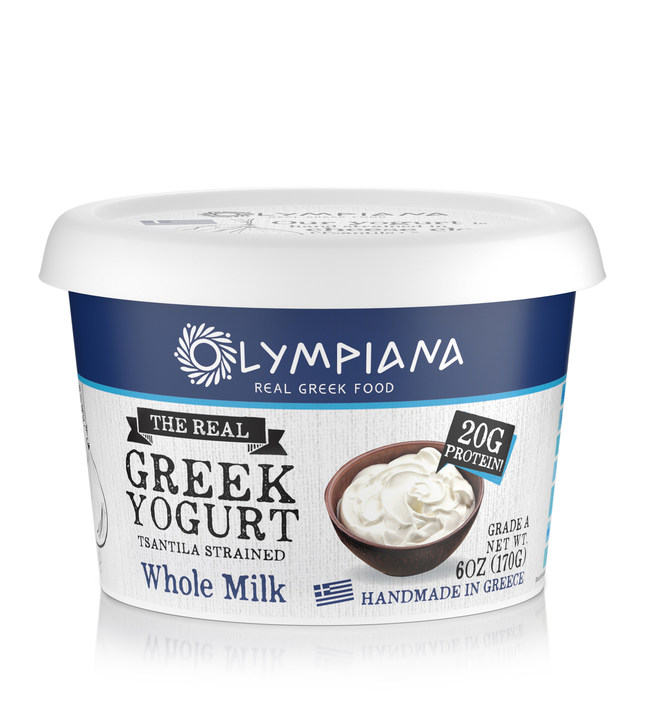 Olympiana Tsantila Imported Greek Yogurt 6oz Traditional Whole Milk