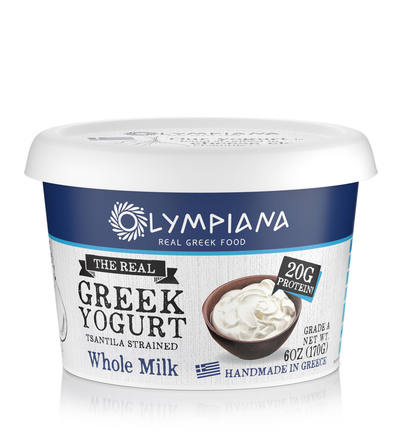 Olympiana Tsantila Imported Greek Yogurt 6oz Traditional Whole Milk
