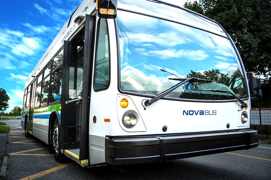 Nova Bus is proud to receive its largest bus order in North America (CNW Group/NOVA BUS)