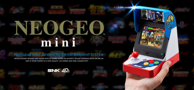 SNK NEOGEO mini Online Presentation, �THE LEGACY LIVES ON. � The announcement of the NEOGEO mini console and its exhibition at E3. The console will be released this Summer.