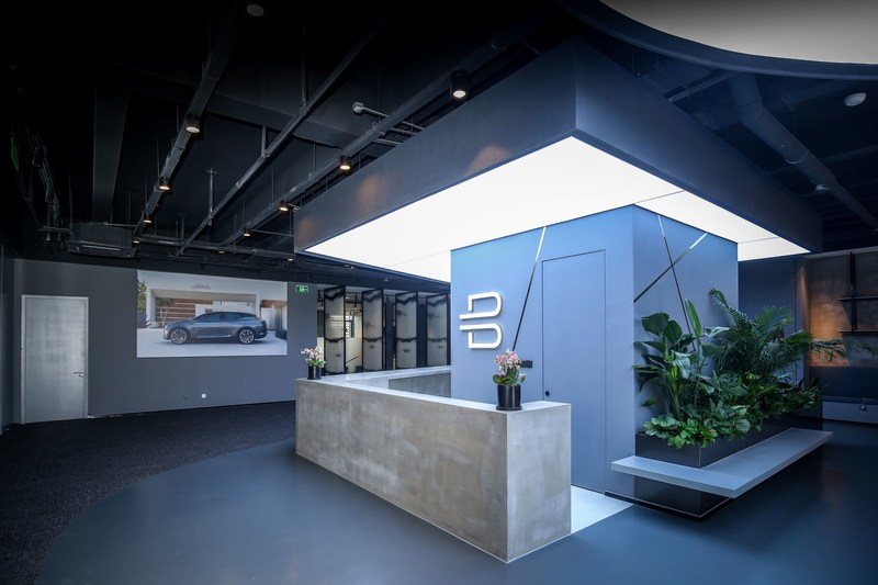 BYTON's new office headquarters in Nanjing, China