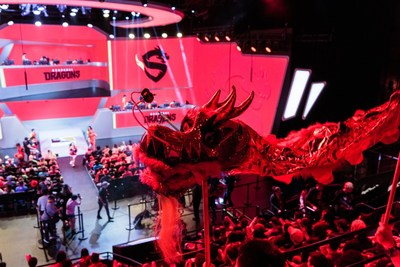 Dancing Dragons at Blizzard Arena: the 2nd Shanghai Dragons' Team Event