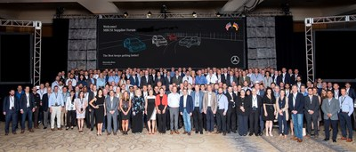Purchasing- and operation leaders of Mercedes-Benz Cars and Mercedes-Benz U.S. International (MBUSI) met with representatives from 240 suppliers at the company's annual Supplier Forum on June 8, 2018.