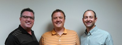 Pictured from left to right: Steve Vogel, Dan Vogel and Curt Vogel of Triple V, Inc.