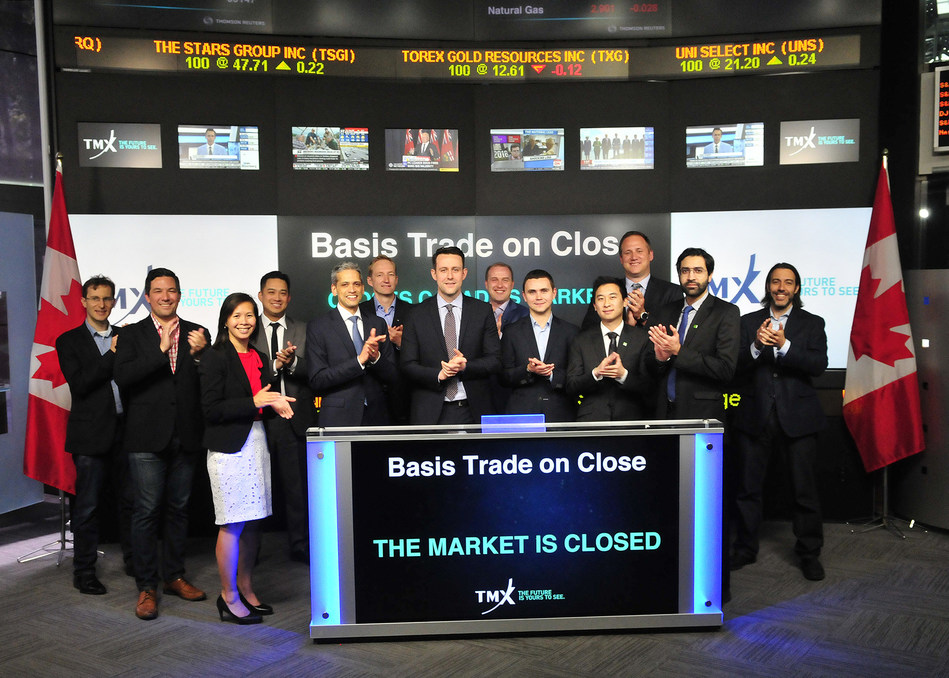 Basis Trade on Close Closes the Market (CNW Group/TMX Group Limited)