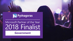 Pythagoras Announced as a Finalist for Microsoft's Government Partner of the Year 2018