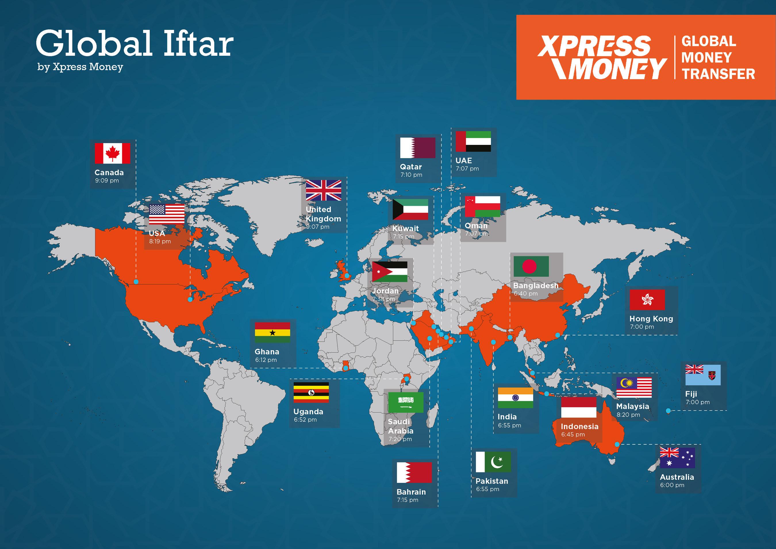 Global Iftar (PRNewsfoto/Xpress Money)