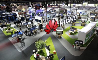 Junto con más de 100 asociados, Huawei participa en CEBIT 2018 y promueve la transformación del sector digital.. (PRNewsfoto/Huawei)